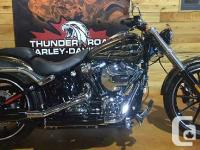 Be the 1st to own a 2016 Softail breakout in the hard