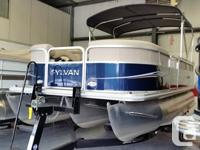Sylvan Is 1 of the better built pontoons on the market