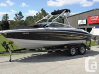 SOLD! 2005 Four Winns 200 Horizon. Powered with a fuel