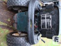 15 YR OLD YARDWORKS LAWN TRACTOR 25 hp briggs