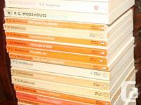These are 25 P.G. Wodehouse softcovers-- mainly Penguin