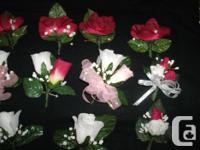 brand new 25 piece wedding flower package comes with 8
