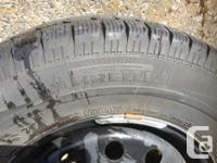 4, 215/70R15, used Pirelli 190 Snow Sport winter tires