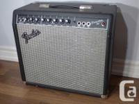 Princeton 65 Solid State guitar amp. Excellent