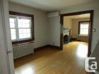 Available Now Fabulous Large Upper Duplex! 2 Bedrooms*