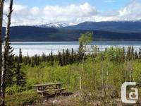 3.99 hectares with a panoramic sight of Marsh Lake