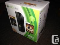 Selling my 250GB Xbox360 slim for $500 OBO comes with