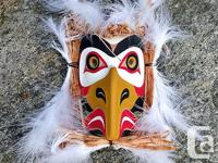 EAGLE MASK BY RUPERT SCOW 15RS15 Dimensions: Height: