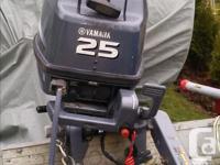 2007 Yamaha 2-stroke Outboard Motor Long Shaft Campbell
