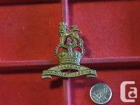 Original Canadian - Officer Provost Corps Cap Badge
