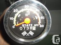 Vintage ''State'' bike speedometer,738 mis works great