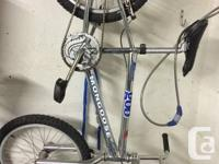 Selling my 25th Anniversary Mongoose BMX.  Excellent