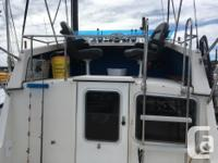 1985 Commander 26 -This inboard cruiser has a white