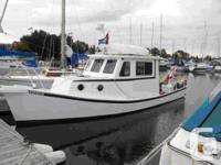 """~~1994 33' x 8'6"""" x 28"""" Steel Glen-L """"Lobster-Boat"""