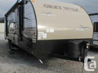 2016 Forest River Cherokee Grey Wolf 28BHKS Travel