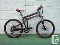 """eRanger FX35 bike Full size Electric Bike with 26"""""""