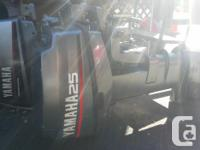 I have a 26 foot Martin Sailboat and a 1998 25hp Yamaha