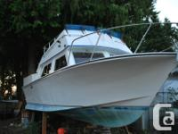 1978 Custom Craft boat with 5.7 litre Volvo Penta V8