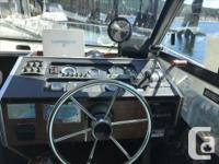 1978 fiberform fishing boat Volvo 350 cid engine and