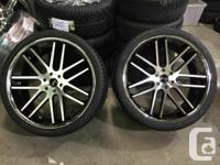 """26"""" Giovanna Gianelle Yerevan Black Machined Tires with"""