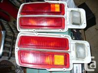 Tail lights from a 1974 260Z 2+2. Great shape. Datsun