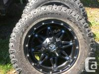 Fuel Hostage rims with Goodyear Duratrac tires