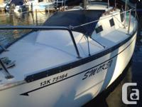 1978 - 26ft San Juan Sailboat, $3500 inc NEW 9.8hp