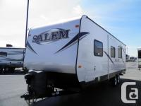 This Salem travel trailer is like new! It even smells