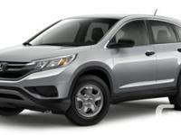 Description: This is a 2016 Honda CR-V LX. Call today
