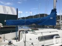 Great family sailboat. 27' Canadian Sailor - sleeps 6.
