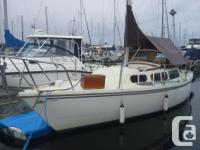 Sailboat located in Oak Bay with Great outboard and