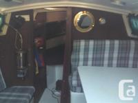 This 1972 Catalina Sailboat is in overall good