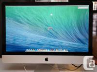 We have an iMac Intel Core i5 Quad Core 2.66 GHz 8GB