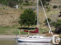 27' Catalina sailboat (1974) in superb problem. 15 hp