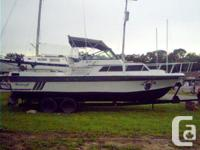 Fishing/Cruising Boat. 350 Chevy engine w/1494hrs.