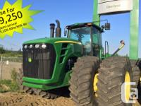 9630 2008 John Deere 9630, Articulated four wheel-drive
