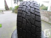Set of 4 new take-off wild country XTX 4S 275/65r18