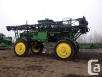 4730 2014 John Deere 4730, Self-Propelled Sprayers, 800