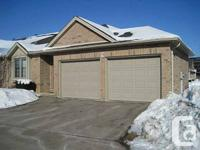 Double car garage! End unit with no rear neighbours.