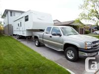 2002 Golden Falcon Presidential Fifth Wheel Truck For