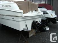 2003 Larson 253 Cabrio, boat has a 5.7L mercruiser,