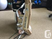 Set of Bauer Bauer Goalie Pads for sale. Perfect for