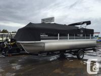 2014 G3 V22C Pontoon is a new boat but old stock.