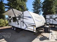 Description: Murphy Bed and SofaPower Awning w/LED