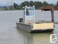 28' x 8' width Aluminum Landing craft work boat, 7'