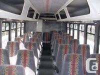 For sale 28 passenger mini couch bus in a great shape