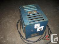 . THIS ELECTRIC BATTERY CHARGER WAS BUILT AND