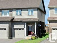 Wow! 4 years of age townhome in Huron Woods. Presently