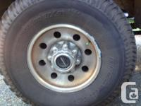 I have for sale 4 285/75R16 ATs that just came off my