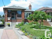 Fully Renovated, Solid Detached Brick Bungalow In Prime